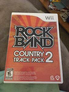 Wii rock band country pack 2