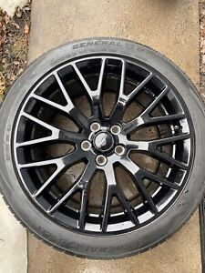 "Ford Mustang GT 19"" Performance Pack Rims and Tires"
