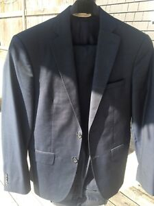 Men's/teens suit Size 36 short