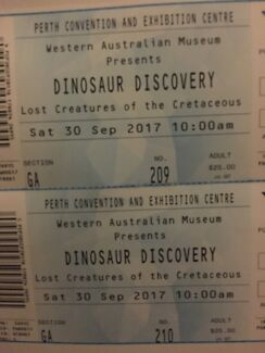 Dino discovery tickets