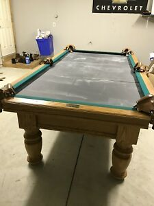 X Dufferin Pool Table Buy Sell Items From Clothing To - Dufferin pool table