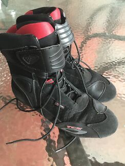 Motorcycle boots size 44 , 10 US