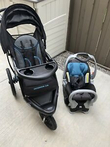 Baby trend expedition jogging travel system