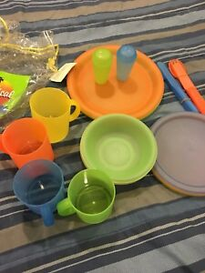 Plastic / camping/ picnic dishes