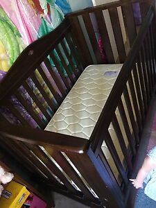 Boori cot and mattress Figtree Wollongong Area Preview