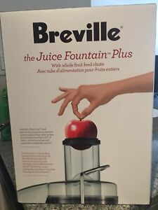 Breville juice maker - Brand new in a box