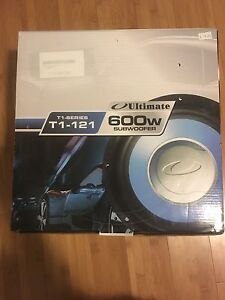 "Two 12"" subwoofers"
