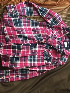 Plaid shirt size small