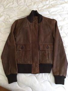 GAP transformer leather jacket Size S