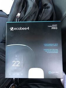 New in box never used Ecobee4 smart WiFi thermostat