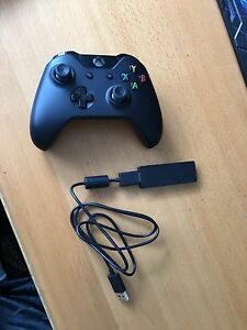 Xbox one controller + usb adaptor