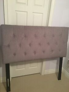 Double size upholstered headboard from Sleep Country