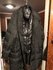 Plus size Mid-length Down Coat