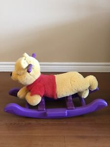 Rocking horse Winnie the pool