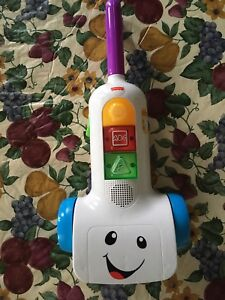 Fisher price toy vacuum cleaner
