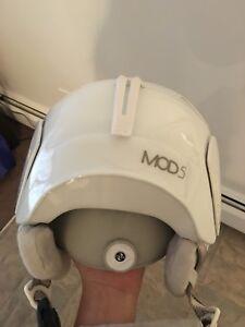 Two Oakley Mod 5 helmets