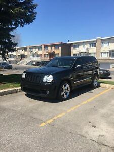 4x4  jeep cherokee srt8  2006