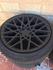 Rotiform 19x10 19x8.5 with tires Clarkson Wanneroo Area Preview