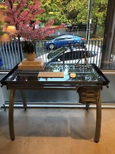 Silver Futura Drawing Table   Purchased at DeSerres Art Store