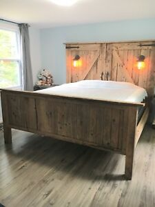 Authentic Barn Board Bed *King Size*