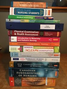 1st & 2nd Year Practical Nursing Books