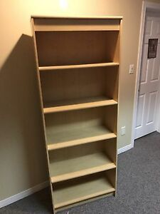 Qty 2 Bookshelf for sale 28x12x72 for both