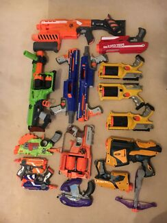 15 Nerf Blasters for $180