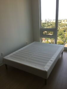 IKEA White Queen Bed Frame/Base
