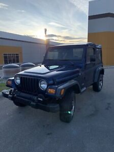 2002 Jeep TJ Wrangler Leather 4.0L Low KMs