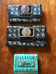 Selling All 3 GUESS Wallets for $30