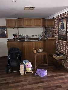 Timber bar Wattle Grove Liverpool Area Preview