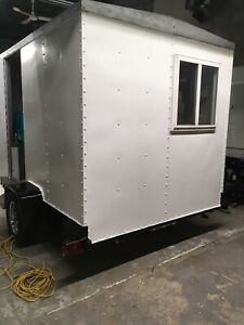 10 ft food trailer aluminium frame.