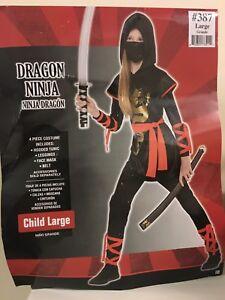 Ninja Costume with Sword.