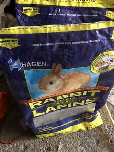 2 bags rabbits food