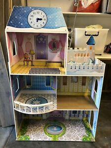 Wooden doll house - large