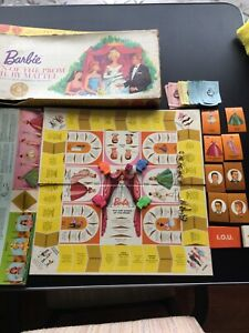 Vintage 1963 Mattel Barbie Queen of the Prom board game