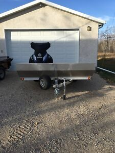 2015 Triton Aluminum Double Trailer