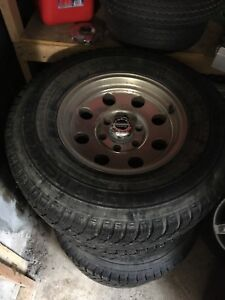 6 Bolt American Racing Rims/265-75-16 Tires $500