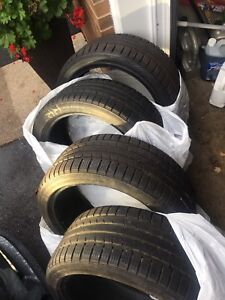 4 235/40/18 continental winter tires