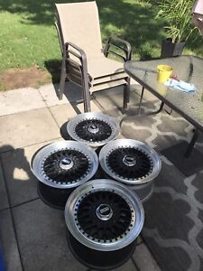 """BBS RS ORIGINAL 17""""x9""""    Not reps !  With tires"""