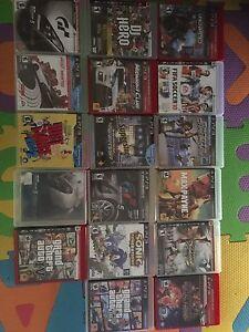 PS3 jeux vendre ou échange