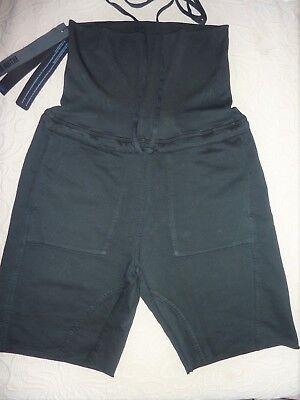 Ilaria Nistri shorts, trousers, cut off, rolled edge, high waist, black