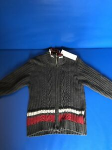 Size 4 zip up sweater new with tags