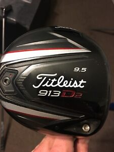 Titleist 913 Driver and 3 Wood