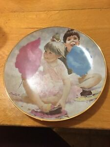 The Birthday Party/Thornton Utz #Z261T Collector Plate