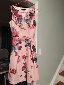 Ted Baker Deavon floral pink dress