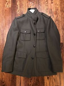 Hugo Boss Military Jacket Dark Green Size 40R