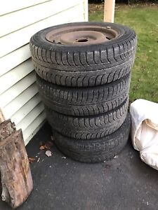 Michelin X-Ice 205 60R16 Full Set of Winter Tires & Rims