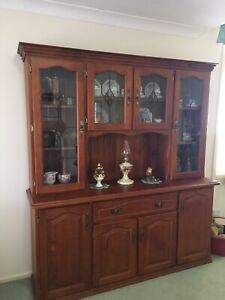Timber wall unit SOLD
