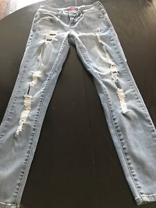 Guess low rise power skinny